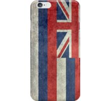 State Flag of Hawaii,  retro style vintage 1-2 scale version iPhone Case/Skin