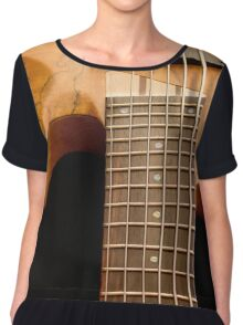 Music is a Moral Law Chiffon Top