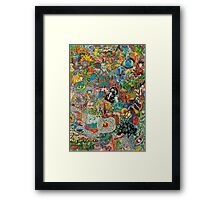 Fear and Loathing on Planet Caravan Framed Print