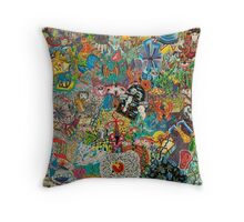 Fear and Loathing on Planet Caravan Throw Pillow