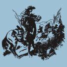 Trap For A Bandit - Black by perilpress