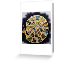 Spiral of Time Greeting Card