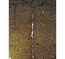 Cracked Gold. Photographic Print