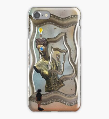 Embryonic Thoughts in Stereo iPhone Case/Skin