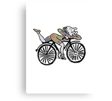 Bicycle Day 'Albert Hoffman' Canvas Print
