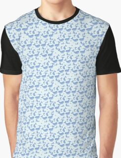 Swimming whales Graphic T-Shirt
