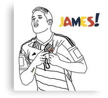 James! Canvas Print