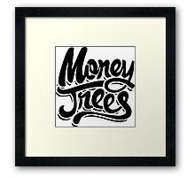 Money Trees - Black Framed Print