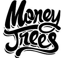 Money Trees - Black Photographic Print