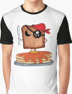 The Toast Pirate Graphic T-Shirt