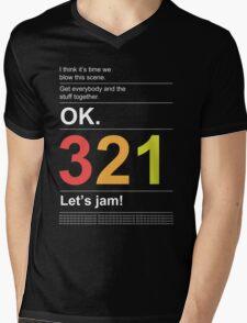 Tank! Mens V-Neck T-Shirt