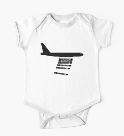 Bombing for Democracy? Drone Attacks / Drone Warfare  One Piece - Short Sleeve