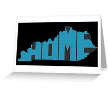 Kentucky HOME state design Greeting Card