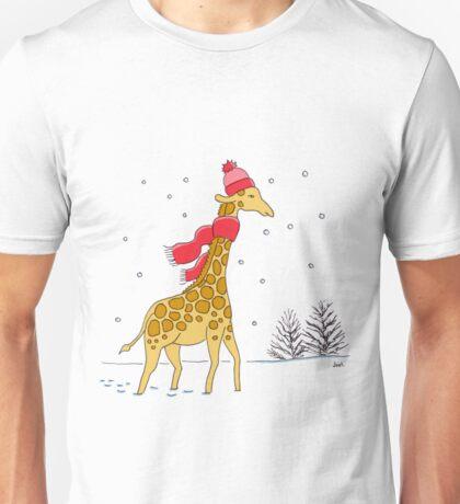 Girraffe in a scarf Unisex T-Shirt