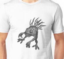 Black and White Murloc Unisex T-Shirt