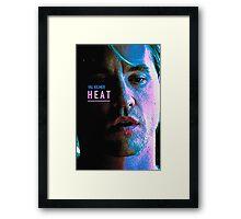 HEAT 3 Framed Print
