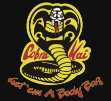 Cobra Kai Dojo - Black One Piece - Short Sleeve