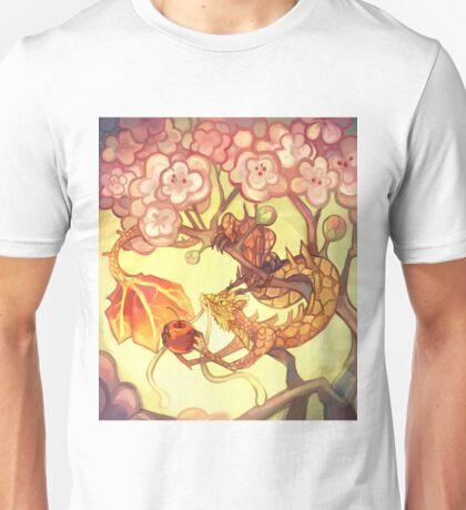 Maple Dragon & Cherry Tree Unisex T-Shirt