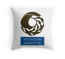 Captain! There be whales here! Throw Pillow