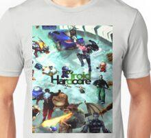 Hardcoe Droid Montage Unisex T-Shirt