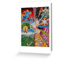 Soul Explosion full size Greeting Card