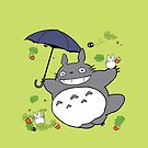 Totoro by Hikaru Yagi