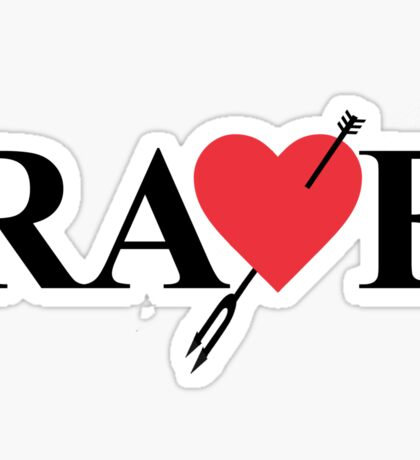 Catherine - Vincent Brooks RAVE Logo Sticker