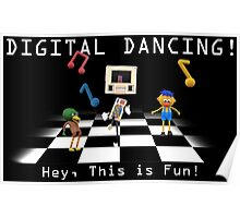 DHMIS - Digital Dancing Don't Hug Me I'm Scared 4 Poster