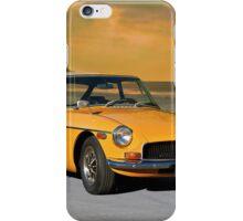 1972 MGB GT iPhone Case/Skin