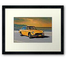 1972 MGB GT Framed Print