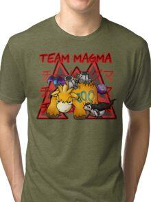 Volcano  Villains   Tri-blend T-Shirt