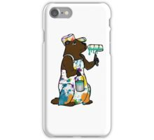 Painter Groundhog iPhone Case/Skin