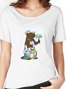 Painter Groundhog Women's Relaxed Fit T-Shirt