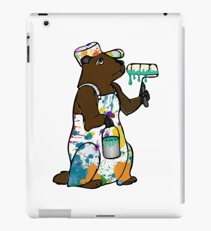 Painter Groundhog iPad Case/Skin