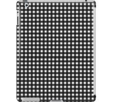 Black & White Gingham iPad Case/Skin
