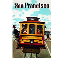 Vintage San Francisco Travel Poster - Stan Galli c 1957 Photographic Print