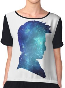 doctor who-tenth doctor David Tennant  Chiffon Top