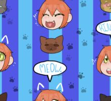 Rin The Cat School Idol  Sticker