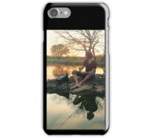 Jared Padelecki Fishing iPhone Case/Skin