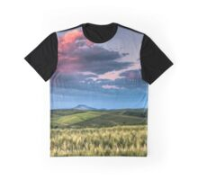 Palouse Storm at Sunset Graphic T-Shirt