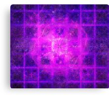 Prince Sacred Geometry Pattern Overlay | Fractal Art Canvas Print