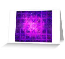 Prince Sacred Geometry Pattern Overlay | Fractal Art Greeting Card