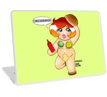 I LOVE CHEESEBURGERS Laptop Skin