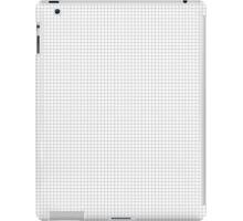 Black & White Grids iPad Case/Skin