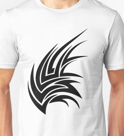 Cool Tribal Tattoo Wing Unisex T-Shirt