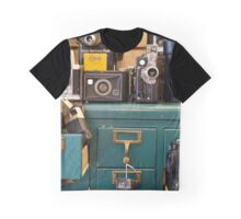 Retro Cameras Graphic T-Shirt