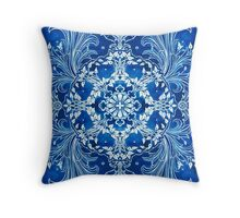 - Bright blue - Throw Pillow
