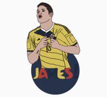 James Rodríguez with colour! Kids Tee