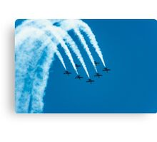 Breitling jet team Canvas Print