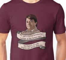 "Peep Show ""Mark Corrigan"" Unisex T-Shirt"